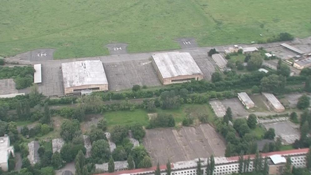 Areál bývalých opravárenských dílen ve Slatině
