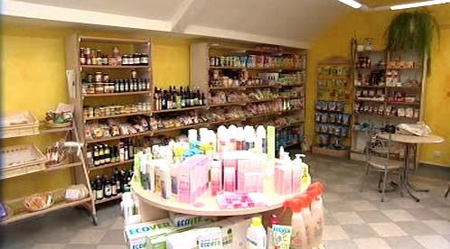 Jeden z oloomuckých obchodů Fair Trade