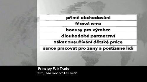 Principy obchodu Fair Trade