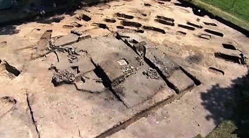 Archeologický nález rotundy