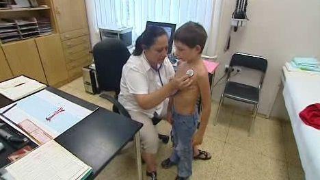Matěj u lékařky