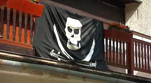 Pirátská vlajka