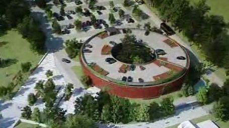 Projekt parkovacího domu