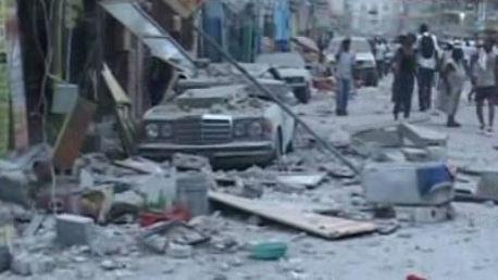 Haiti po zemětřesení