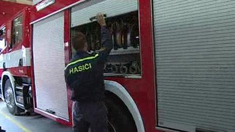 Garáž pro hasičské vozy