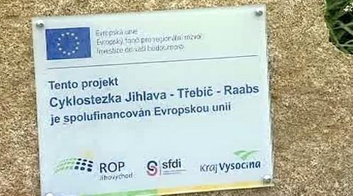 Cyklostezka Jihlava - Třebíč - Raabs