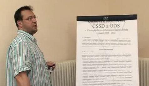 Koalice ČSSD-ODS na jihu Moravy končí