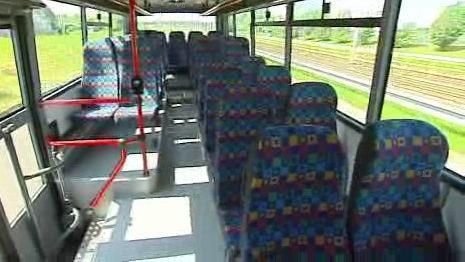 Prázdný autobus