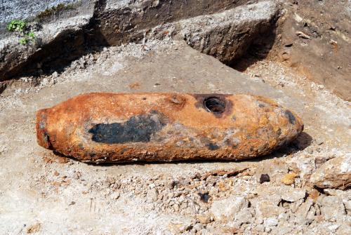 Nevybuchlá bomba z 2. světové války
