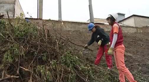Nezaměstnaní ve Znojmě uklízí nepořádek v okolí
