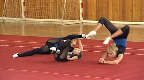 Gymnastky ze Sokola