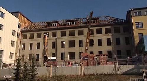 Výstavba nemocničních pavillonů