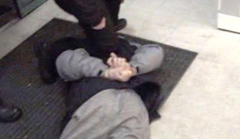 Zadržený bezdomovec