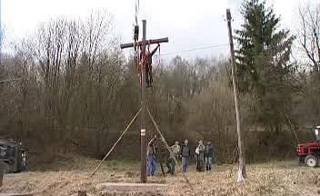 Vztyčení kříže