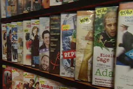 Filmy na DVD
