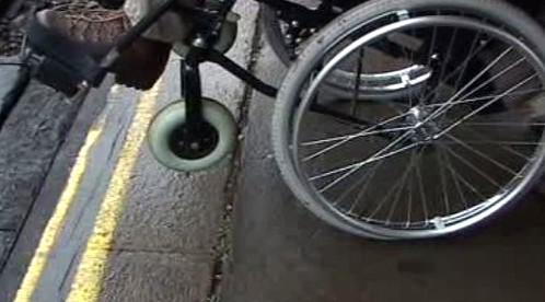 Bariéry pro vozíčkáře