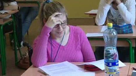 Lenka Vysloužilová ve třídě
