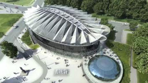 Projekt nového kongresového centra ve Zlíně