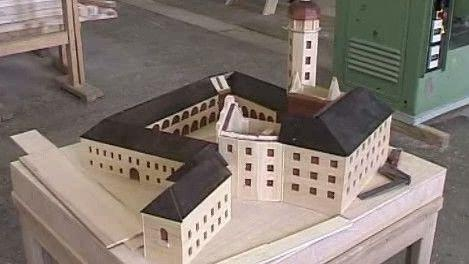 Model zámku