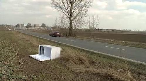 Odpadky u silnic