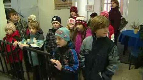 Děti v muzeu