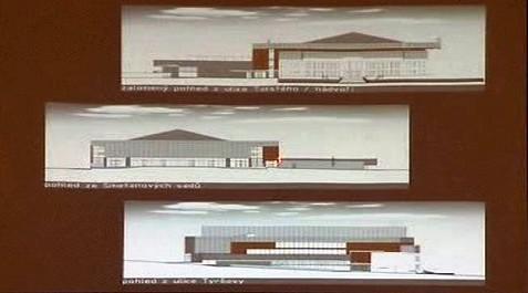 Plány na novou halu v Jihlavě