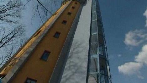 Penzion ve věži - místo závodu