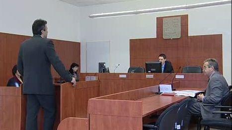 Pavel Dvorský před soudem