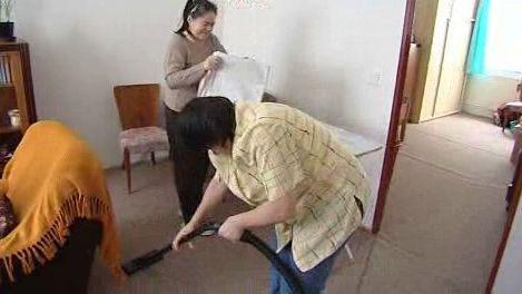 Ženy ve svém bytě