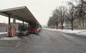 Autobusové nádraží ve Znojmě