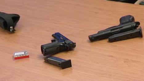 Použité zbraně