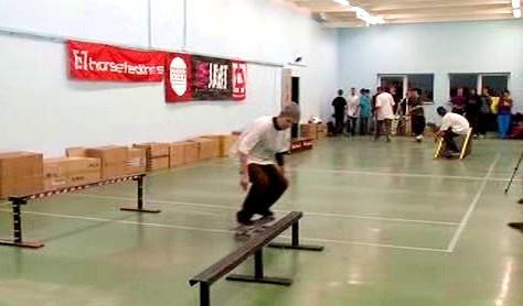 Krytý skatepark v Brně