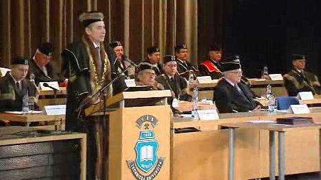Proslov nového rektora