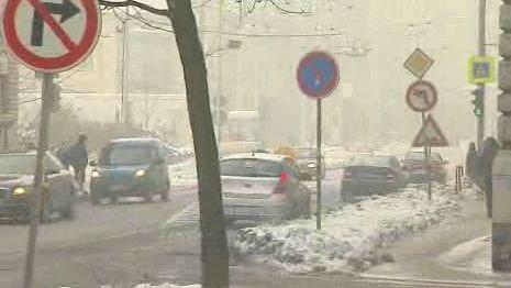 Smog v ulicích