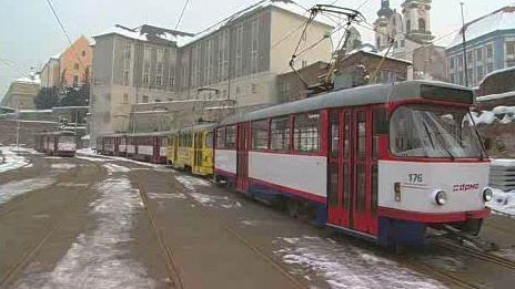 Olomoucké tramvaje