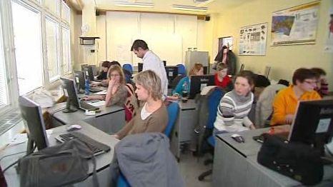 Účastníci kurzu pro nezaměstnané