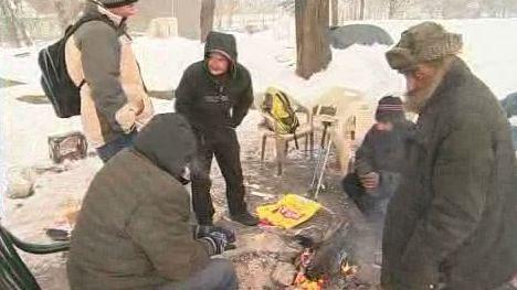 Tábor bezdomovců