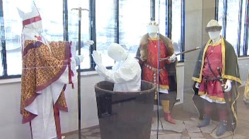 Expozice Památníku Velké Moravy