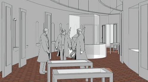 Plán expozice na slavkovském zámku