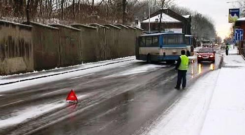 Led na silnici