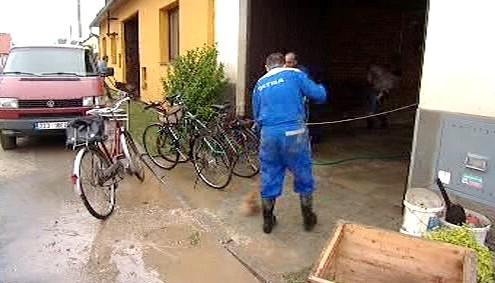Následky povodně