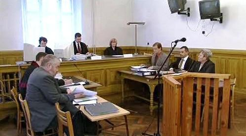 Soud s Dagmar Hrubou