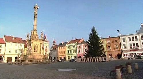 Masarykovo náměstí v Uničově
