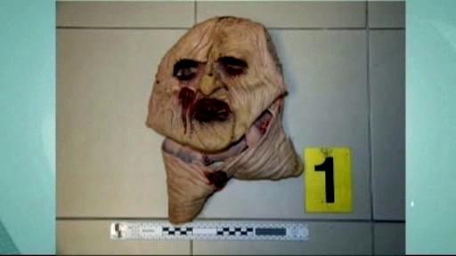 Hororová maska útočníka