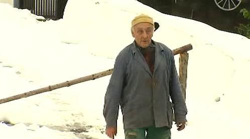 Jaroslav Hatlapatka se závorou