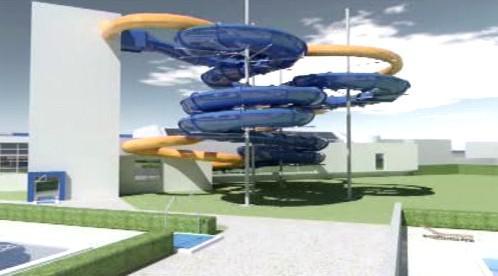 Model akvaparku