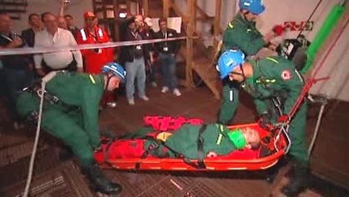 Přehlídka záchranářské práce