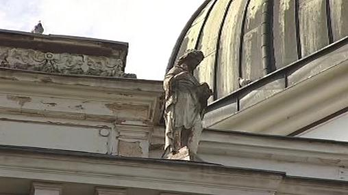 Socha z opavského muzea