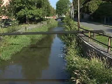 Podolský potok v Rýmařově