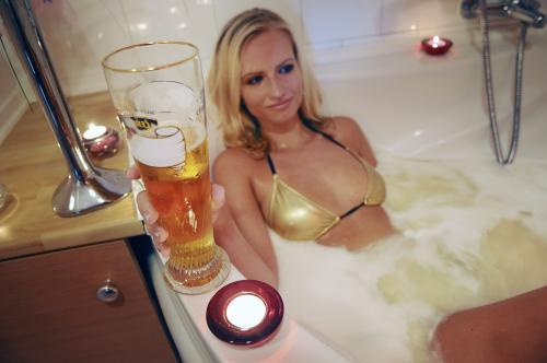 Pivní lázeň